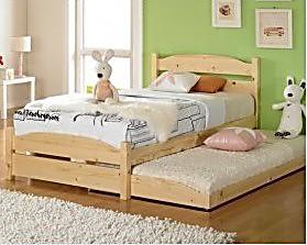 儿童床/高低床/双人床/双层床/子母床儿童上下床 实木拖床 特价