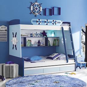 合诚家居 高低床 组合床 上下床 双层床 子母床 梯柜抽床