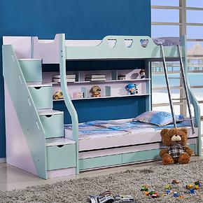 家居佳儿童双层床儿童家具上下床儿童床母子床高低床子母床902