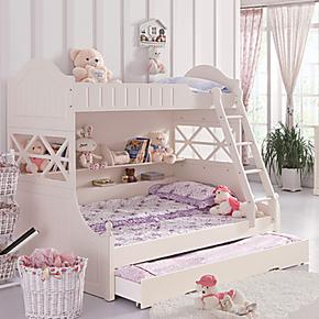 双层床 韩式 田园 欧式子母床 高低床 上下床 宜家子母床 双层床