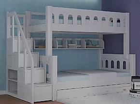 卡乐屋儿童家具/卡乐屋儿童家具套房上下床/高低床飞行城堡