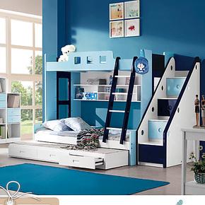 儿童双层床 儿童组合床 儿童上下床 儿童高低床 多功能 书桌衣柜