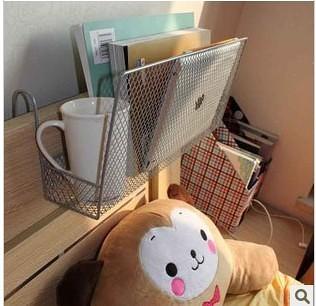 书报架模型_铁艺书报架置物架学生床上书架收纳架展示架杂志架报刊架壁架