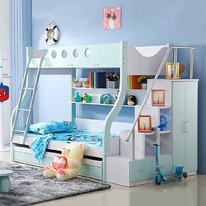双层床儿童家具套房子母床高低床上下床母子床儿童床男孩