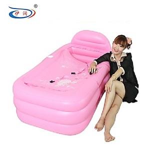 2013新款加厚充气浴缸保暖美容浴缸折叠浴缸浴桶成人澡盆泡澡桶