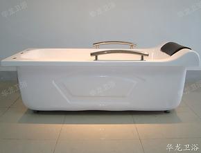 独立式压克力加深加厚带扶手浴缸 1.4-1.7米亚克力双层浴缸 A-12