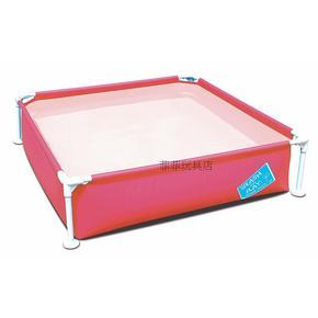 特价加厚支架式游泳池超大充气水池儿童泳池家庭戏水浴缸玩具球池