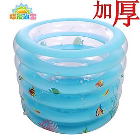 正品婴儿游泳池 婴幼儿童游泳池 充气宝宝浴缸洗澡桶 小孩游泳桶