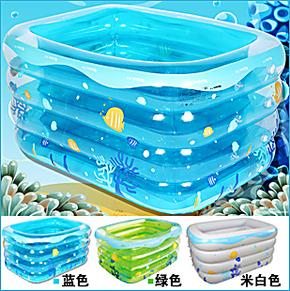 加厚超大号 宝宝 儿童 婴幼儿 充气 婴儿游泳池 成人浴缸 洗澡盆