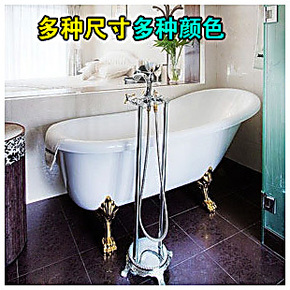 欧式贵妃浴缸 压克力 亚克力 小浴缸独立浴缸单人1.41.51.61.7