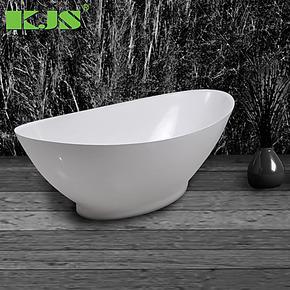 1.8米 精工玉石浴缸 人造石浴缸 独立式浴缸 不是压克力/亚克力缸