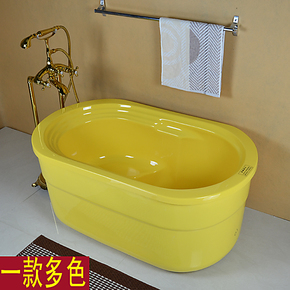 多色亚克力浴缸 压克力成人婴儿童保温小浴缸浴盆1米1.1米1.2 米