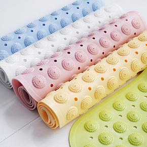 包邮 TPR高档无味环保浴室防滑垫 浴缸按摩地垫 厕所卫生间浴垫