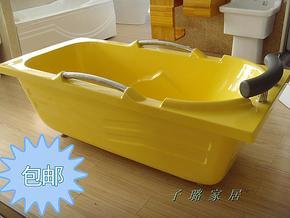 江浙沪皖包邮 正品美涛1.5米带扶手靠枕彩色压克力亚克力保温浴缸