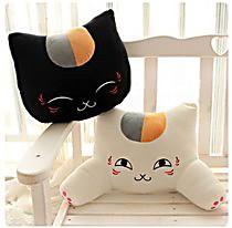 猫老师公仔手捂抱枕按摩枕腰靠 毛绒玩具生日新年情人节礼物