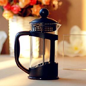 【拇指斗价】 法压咖啡壶 煮咖啡器 冲泡式咖啡机法式滤压壶