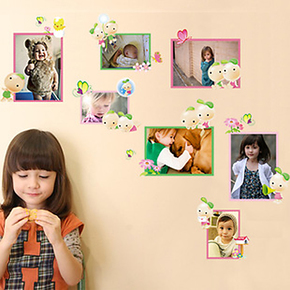 新款特价豆豆相册照片墙贴客厅沙发背景贴 卧室儿童房墙 创意家居