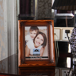 正品7寸10寸 木质相框 创意摆台欧式照片框 白色结婚挂墙相框