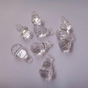珠帘、工艺品等DIY串珠材料亚克力珠/散珠/仿水晶珠/压克力葫芦珠