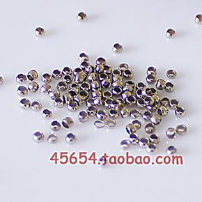 DIY串珠珠帘 水晶金属配件 串珠必备 铜质定位珠子定位珠