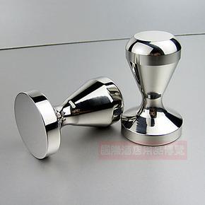 意式咖啡机器具 一体成型全不锈钢压粉器51mm 填压器 压棒 粉锤