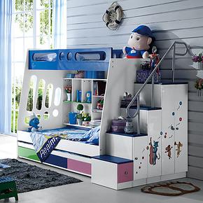 1米儿童床 高低床 上下床子母床 双层床 儿童家具套房 包物流