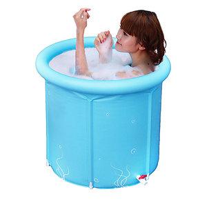 小号成人沐浴桶加厚折叠浴桶充气浴缸宝宝泡澡桶儿童洗澡桶包邮