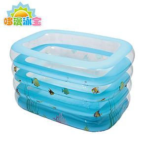 加高加厚充气婴儿游泳池婴幼儿童宝宝游泳池超大保温浴缸大号小号