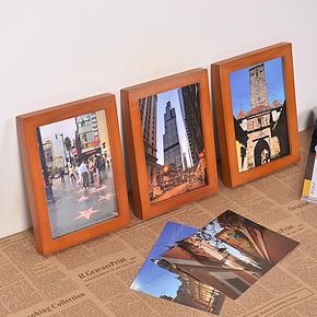 满包邮儿童DIY相框4K开40*60 50x80cm 12x18寸裱画架家居照片墙挂