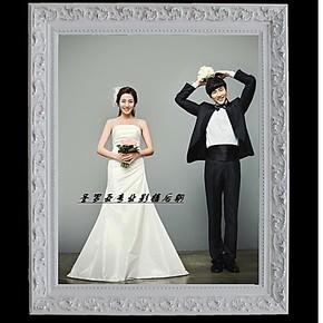 12寸24寸30寸36寸欧式挂墙照片大相框婚纱全家福相框个性制作包邮