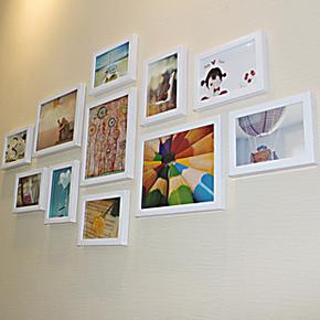 巨匠环保 照片墙 相片墙贴 11框相框组合婚纱家装客厅书房卧室11B
