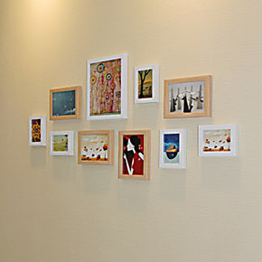 巨匠照片墙 婚纱家装创意相片墙10框客厅卧室相框组合墙 热销10C
