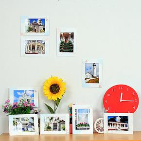 3件包邮 插画 动物创意组合 照片墙 儿童宝宝相片墙 悬挂纸相框墙