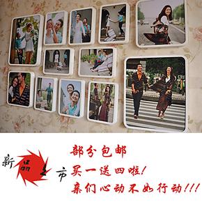 钜祥 厂家直销2种6款组合创意照片墙制作 结婚礼物 装饰框 艺术照