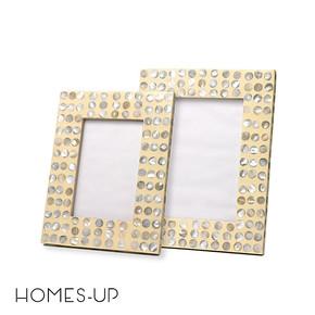 Homes-up 高档时尚贝壳相框画框照片墙摆台 简约创意居家 6寸/7寸
