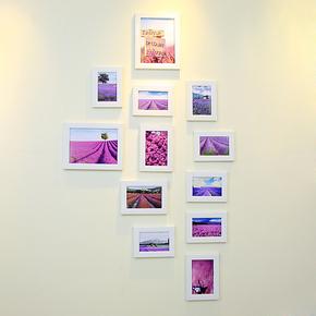 创意欧美式照片墙田园组合相框相片墙壁挂装饰品像片架结婚礼物竖