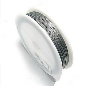 DIY手工制作材料 水晶珠帘线 水晶灯吊线 串珠线 金属镀膜钢丝线