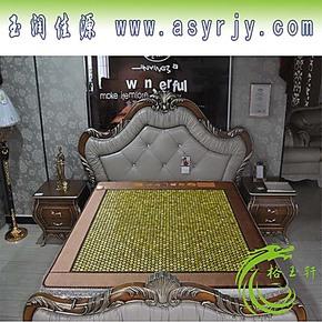 玉石床垫双温双控加热床垫保健托玛琳特价包邮正品北韩玉六角玉