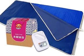 水暖床垫 双人旋钮  水暖毯 水控温无辐射冷暖空调床垫(超)