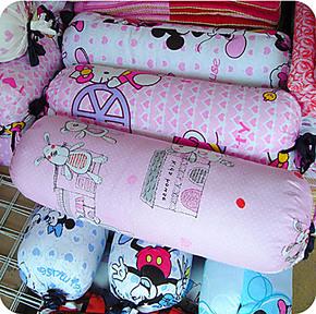 秒杀正品卡通抱枕可拆洗枕头枕芯 护颈枕 带枕套糖果枕可爱抱枕