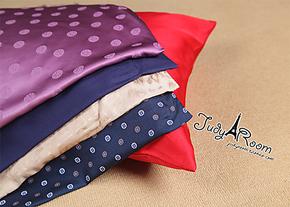S14  亲 请相信真丝枕套可以预防皱纹 5对真丝提花 斜纹绸 枕套