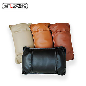 拉米斯 汽车头枕 护颈枕 汽车靠垫 车用腰靠 护腰靠垫四件套 套装