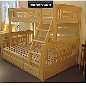母子床双层床/儿童高低床多功能/实木双层床/榻榻米/家居组合床