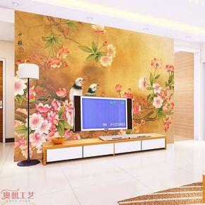 奥想大型壁画 电视墙背景 壁纸墙纸卧室 电视背景墙纸壁纸G00113