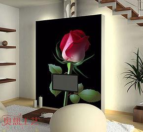 奥想电视背景墙纸壁纸 大型壁画 电视墙背景 客厅卧室墙纸M0067