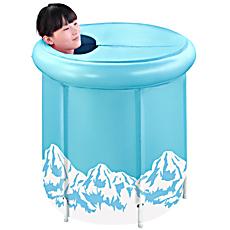 曼波鱼屋支架成人沐浴桶泡澡桶折叠浴盆充气浴缸 可拆卸折叠澡盆