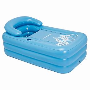 曼波鱼屋成人充气保暖浴缸/超大加厚 SPA沐浴缸