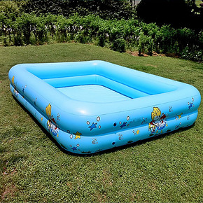 游泳池婴儿充气宝宝儿童幼加厚戏水家庭保温超大号海洋球浴缸方形