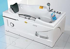 实物图片1.5mPK箭牌安华法恩莎科勒惠达冲浪按摩亚克力浴缸泡澡