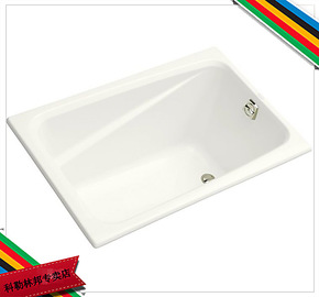 *科勒kohler K-1490T-0 迪素1.2米亚克力浴缸(只提供白色 特价